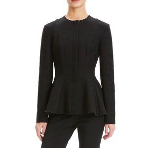 NWT Theory Movement Tweed Black Blazer Jacket SzOO